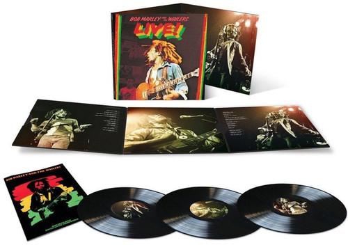 Bob-Marley-amp-Wailers-Live-New-Vinyl-LP