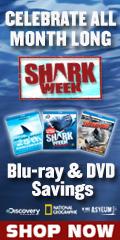 Shark Week Blu-ray and DVD Sale