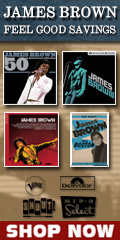 James Brown Music Sale