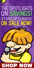 Stand Up Comedy Shows on Sale