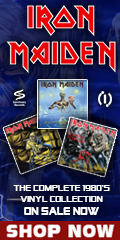 Iron Maiden 80's Vinyl Collection Sale