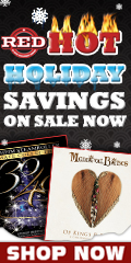 Red Hot Holidays Music Savings
