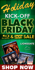 Blu-ray and DVD Holiday Kick-Off Sale