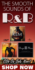 R&B CDs on Sale Now