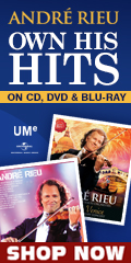 Andre Rieu Music Hits Sale