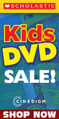 Scholastic Kids DVDs Sale