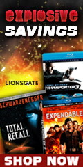 Action DVDs & Blu-ray Sale by Lionsgate