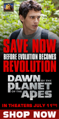 Dawn of the Planet of the Apes Movie Sale