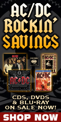 AC/DC CDs, DVD & Blu-ray Sale