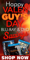 "Valenguy's Day"" Blu-Ray & DVD Savings"