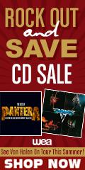 Van Halen Tour, tour, CD