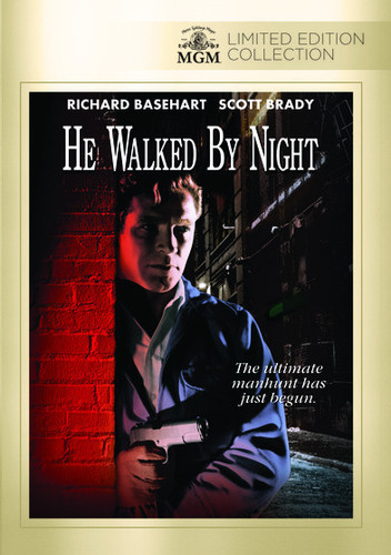 He Walked By Night (2014, DVD NEW)