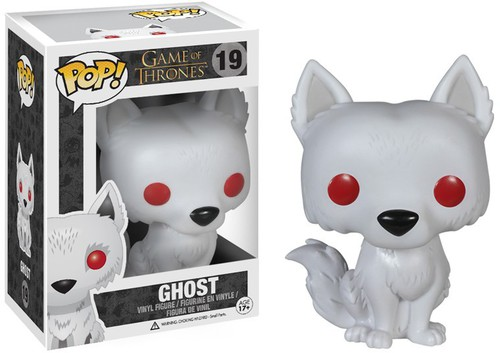 Game Of Thrones - Ghost - Funko Pop! Television (2014, Toy NUEVO)