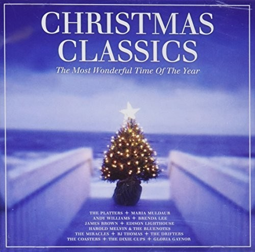 Christmas-Classics-Most-Wonderful-Time-Of-Year-2017-CD-NEUF