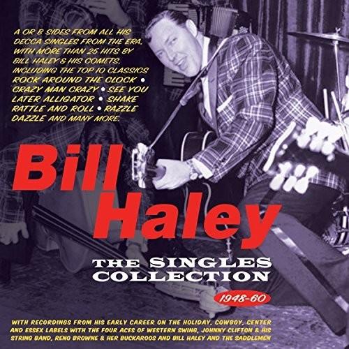 Singles Collection 1948-60 - Bill Haley (2018, CD NEU)2 DISC SET