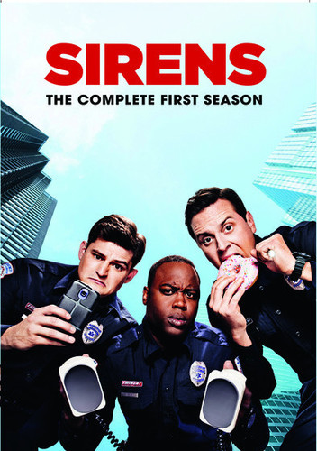 Sirens: The Complete First Season - 2 DISC SET (2015, DVD NEW)