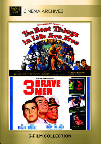 Best Things In Life Are Free / Three Brave Men - 2 DISC SET (2015, DVD NEW)