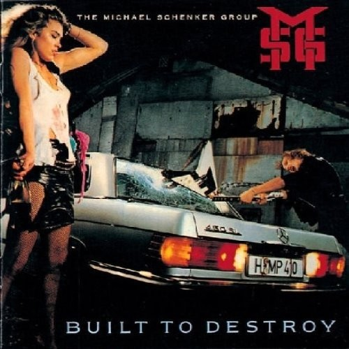 Built-To-Destory-Schenker-Michael-Msg-2018-Vinyl-NUOVO