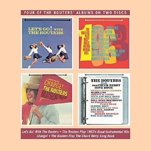 Let-039-s-Go-Play-1963-039-s-Great-Instrumental-Hits-2-DISC-SET-R-2018-CD-NUOVO