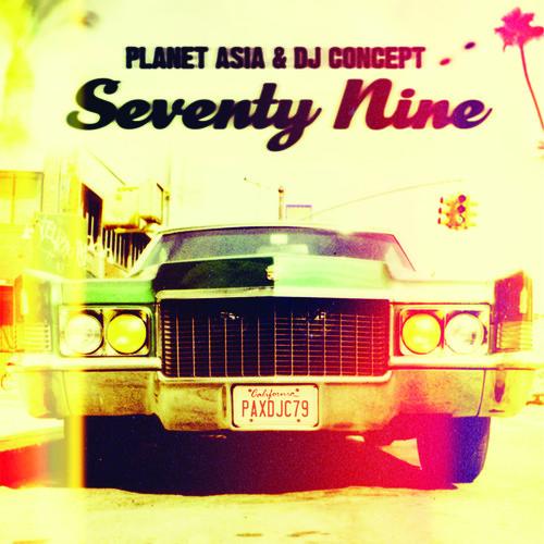 Seventy Nine - Planet Asia / Dj Concept (2016, CD NEU)