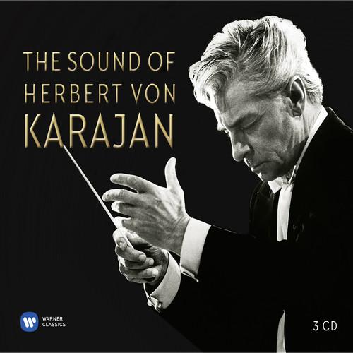 Sound-Of-Herbert-Von-Karajan-3-DISC-SET-Herbert-Von-Karajan-2018-CD-NUOVO