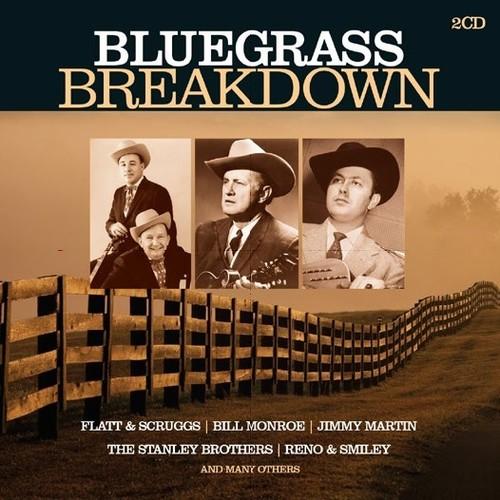 Bluegrass-Breakdown-2-DISC-SET-Various-Artist-2018-CD-NUOVO