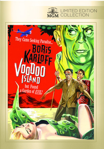 Voodoo Island (2014, DVD NEW)