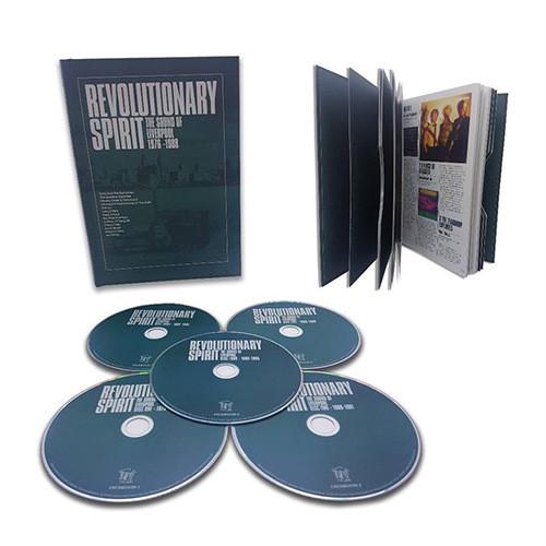 Revolutionary Spirit: Sound Of Liverpool 76-88 - 5 DISC SET - Re (2017, CD NEUF)
