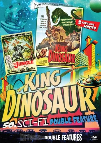 50s Sci-Fi Double Feature: The Jungle/King Dinosaur (REGION 1 DVD New)