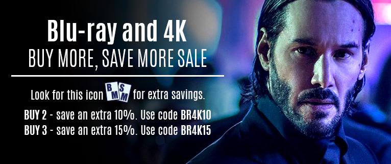 Blu-ray Buy more, Save more