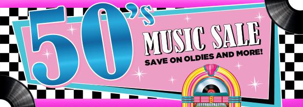 50s Music Sale