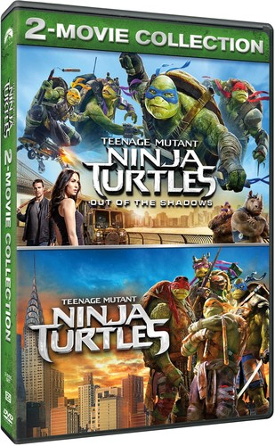 Teenage Mutant Ninja Turtles Tmnt Out Of The Shadows 2 Dvd Double Feature Pg13