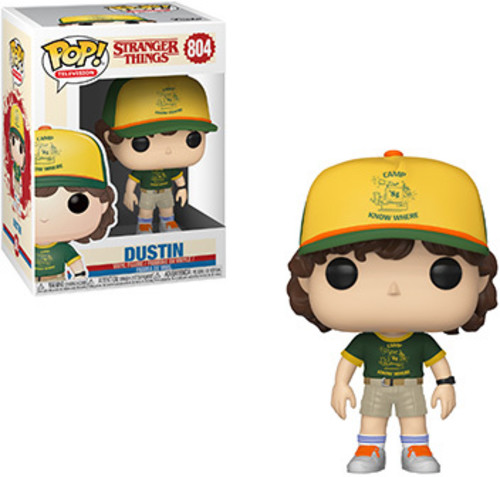 FUNKO POP! TELEVISION: Stranger Things - Dustin   Vinyl Fig