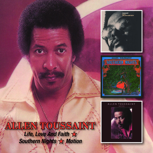 Allen Toussaint - Life Love & Faith /Southern Nights/Motion [New CD] UK - Import