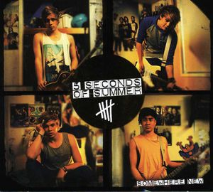 Somewhere New EP (IMPORT) -  Universal, 3724697