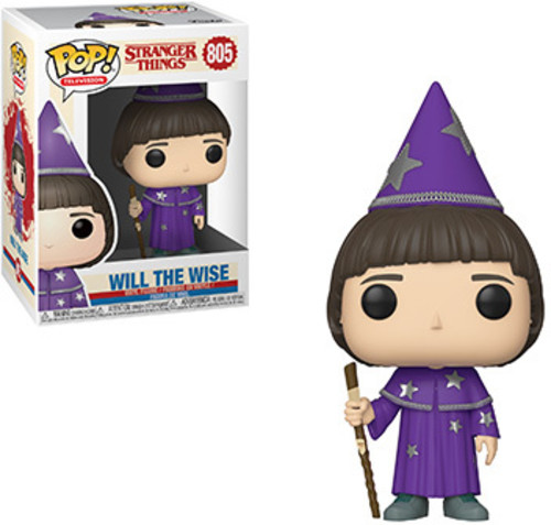 FUNKO POP! TELEVISION: Stranger Things - Will (The Wise) [New Toys] Vinyl Figu