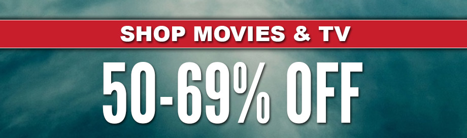 50%-69% off Movies Sale