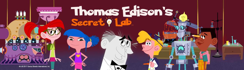 Thomas Edisons Secret Lab