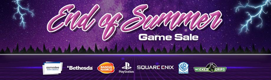 End of Summer Games Sale